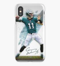 Carson Wentz Philadelphia Sports Art iPhone Case/Skin
