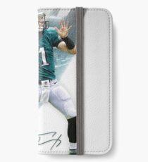 Carson Wentz Philadelphia Sports Art iPhone Wallet/Case/Skin
