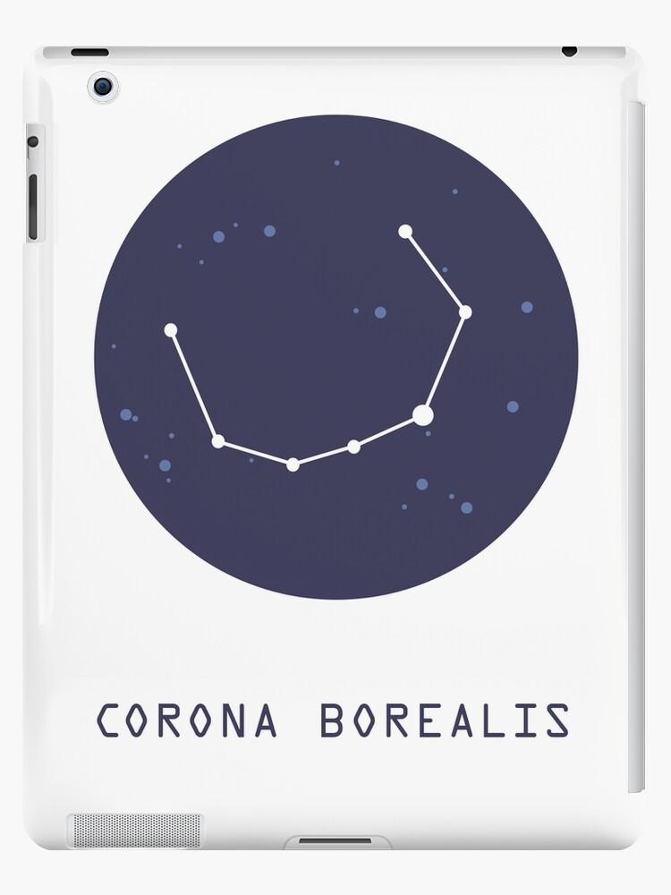 Corona Borealis Constellation Ipad Case Skin By Aglomeradesign Redbubble
