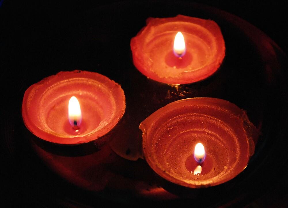 Candles #2 by Martin Kirkwood (photos)