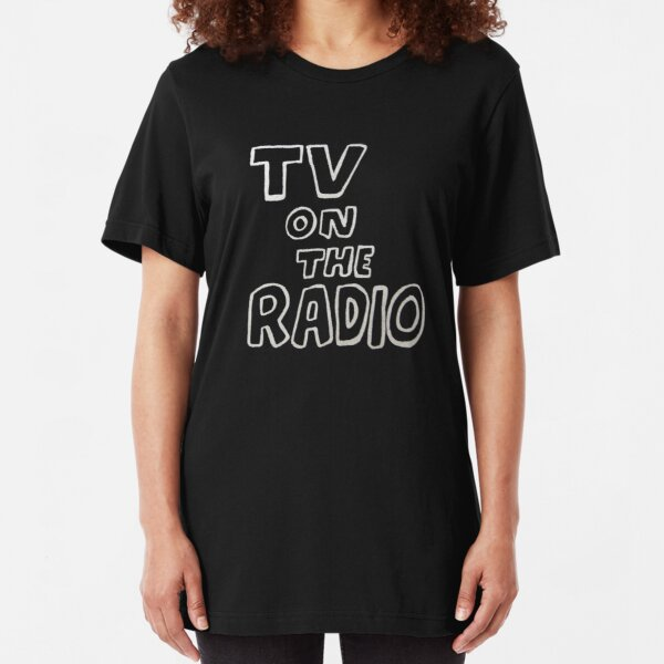 TV On The Radio TVOTR Slim Fit T-Shirt