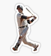 Buster Posey Swing Sticker