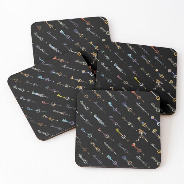 Dark Keyblades Coasters (Set of 4)
