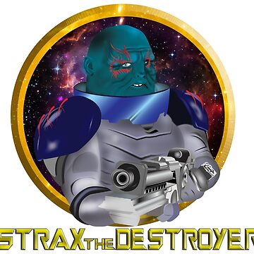 Strax the Destroyer by LonewolfDesigns