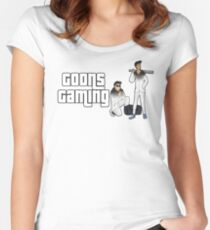Goon Theft Auto Women's Fitted Scoop T-Shirt