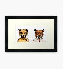 Mr. and Mrs. Fox Framed Print