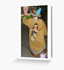 Indian Momma Greeting Card