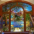 Window in Plaza Hotel, Killarney by Margaret  Hyde