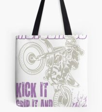 Dirt Bike Throttle Out Womens Tote Bag