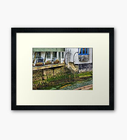 Expecting a High Tide Framed Print