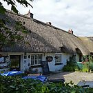 Thatched Cottages in Adare by Margaret  Hyde