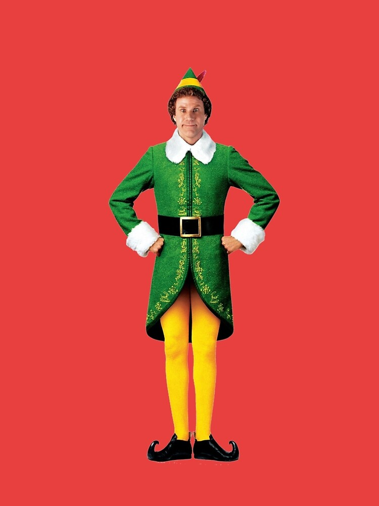 Buddy the Elf, Christmas Movie, Arms Akimbo Will Ferrell  by starkle