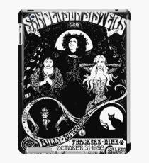 Sanderson Sisters Tour Poster iPad Case/Skin
