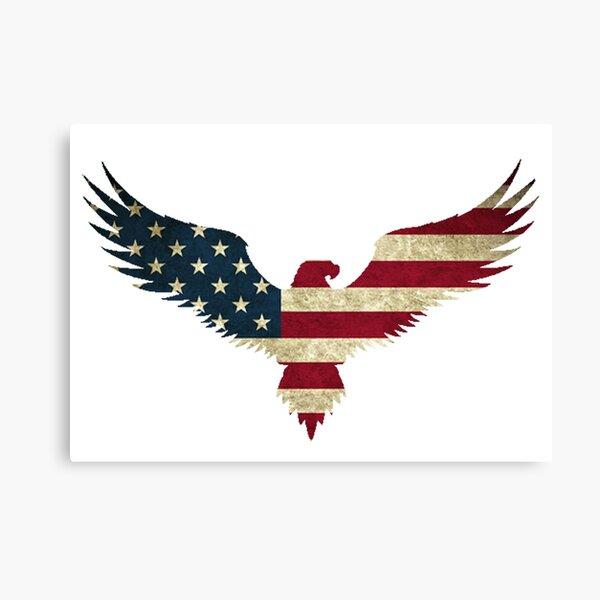 Bald Eagle- America Canvas Print