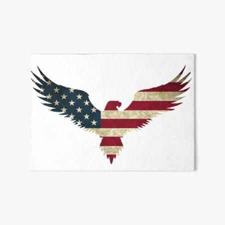 Bald Eagle- America Art Board Print