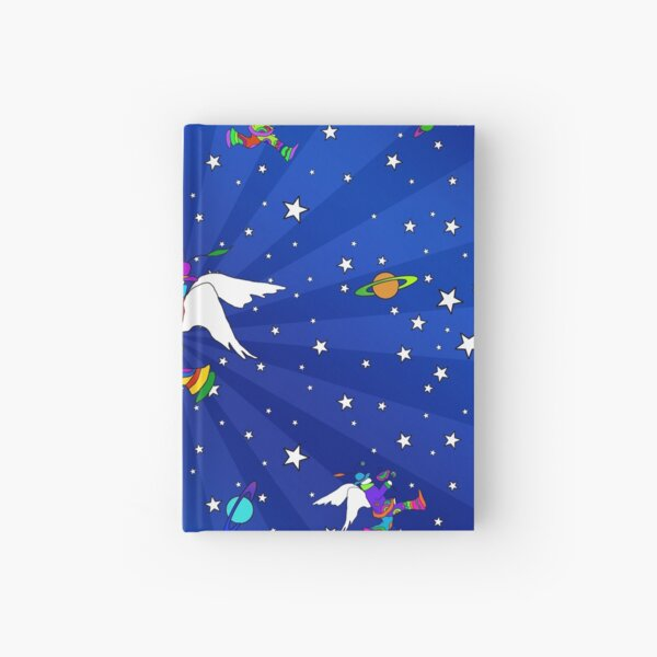 Angel Dudes Starry Night Hardcover Journal