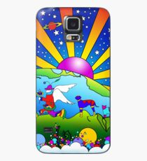 Funda/vinilo para Samsung Galaxy Cosmic Pet World
