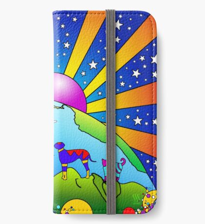 Cosmic Pet World iPhone Wallet