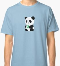 Panda with bamboo Classic T-Shirt