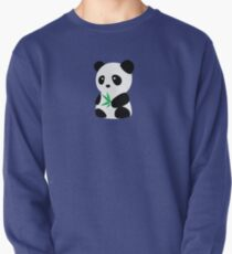 Panda with bamboo Pullover