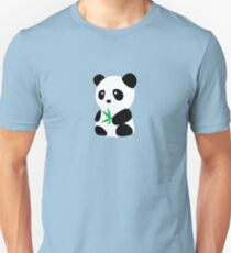 Panda with bamboo Unisex T-Shirt