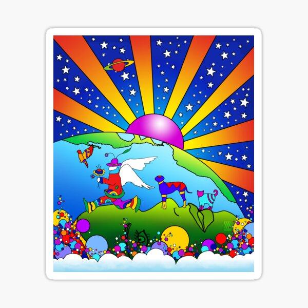 Cosmic Pet World Sticker