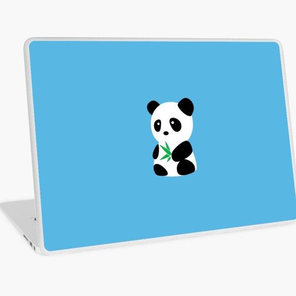 Panda with bamboo Laptop Skin