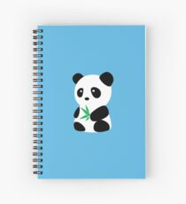 Panda with bamboo Spiral Notebook