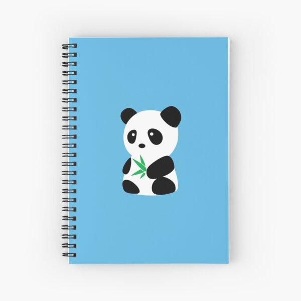 Panda with bamboo Spiral Notebook