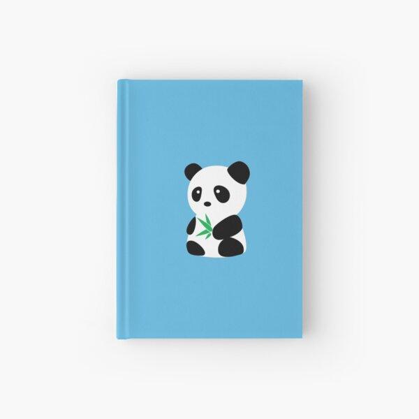 Panda with bamboo Hardcover Journal