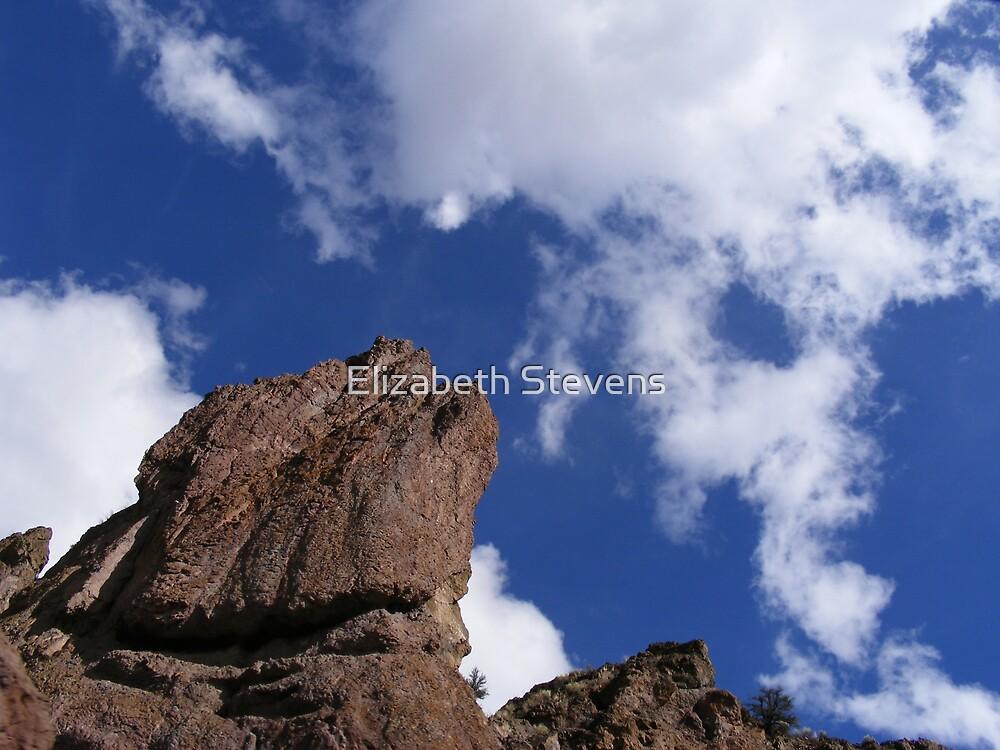 Big Rocks and Blue Skies by Elizabeth Stevens
