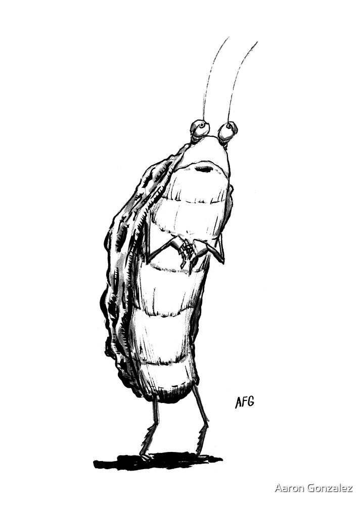 Inktober 2016 Day 25 - Standing Bug by Aaron Gonzalez