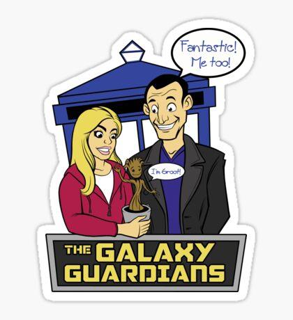 The Galaxy Guardians Sticker