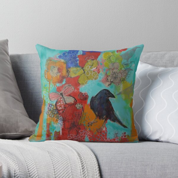 Dream Protector Throw Pillow