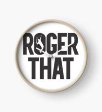 Roger That - Roger Federer Legend Clock