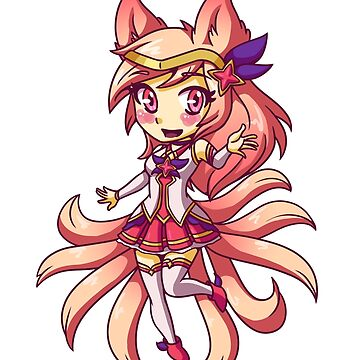 Star Guardian Ahri by LankySandwich