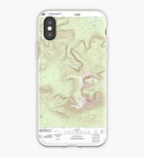 Maine USGS Historical Map Mount Katahdin 20110902 TM iPhone-Hülle & Cover