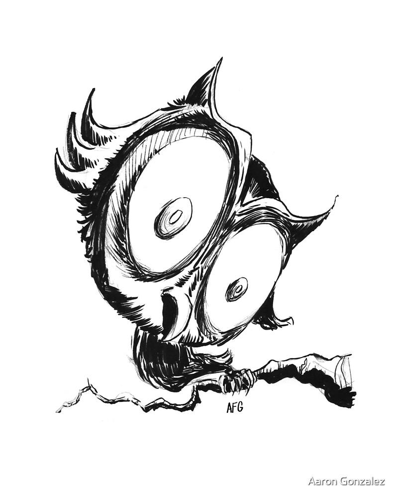 Inktober 2016 Day 29 - Owl by Aaron Gonzalez