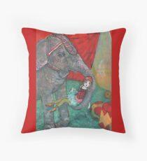 Harriet And Circus Girl Throw Pillow