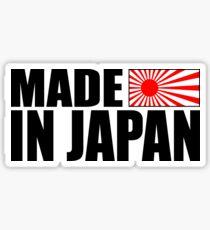 Made In The Land Of The Rising Sun Sticker