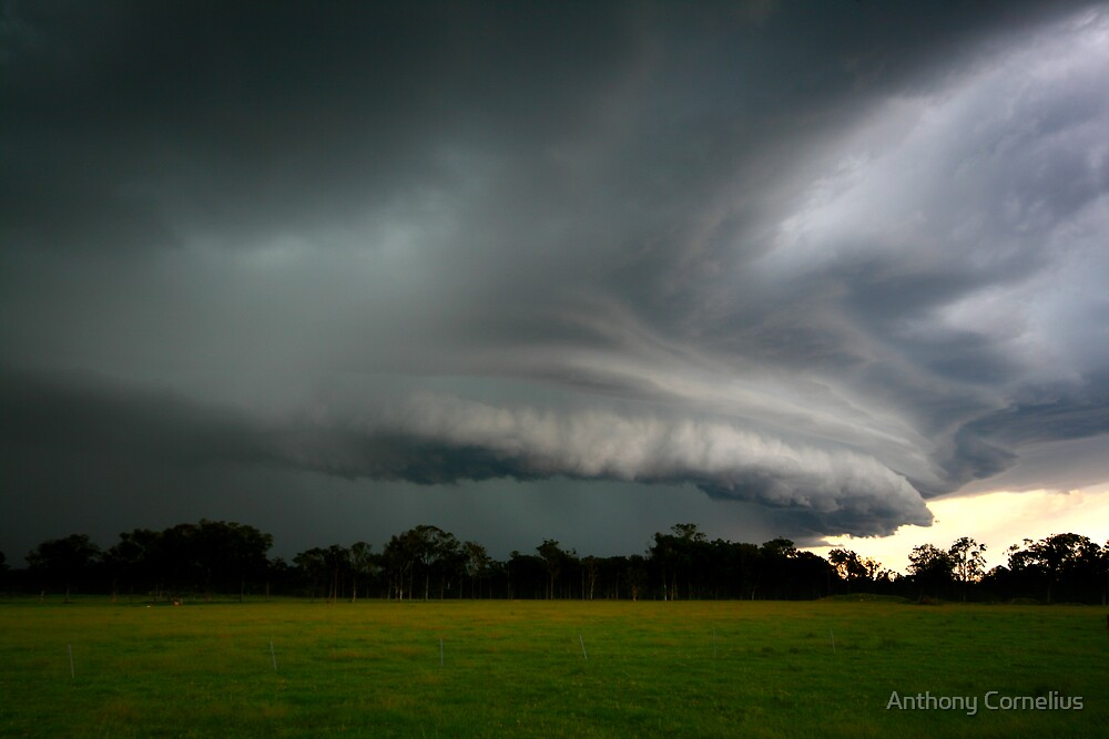 Caboolture Storm by Anthony Cornelius