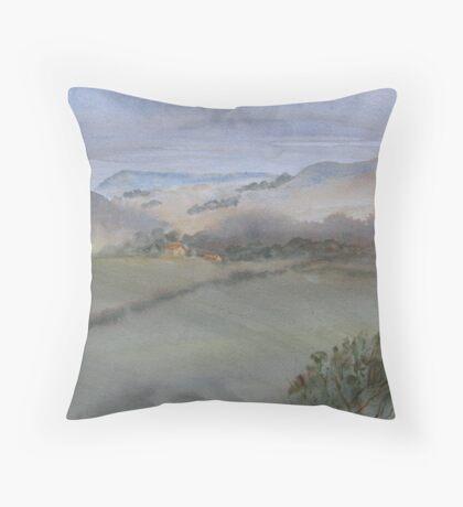 Yorkshire Mist Throw Pillow