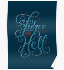 Fierce as Hell Poster
