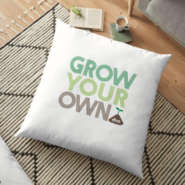 Grow Your Own Floor Pillow
