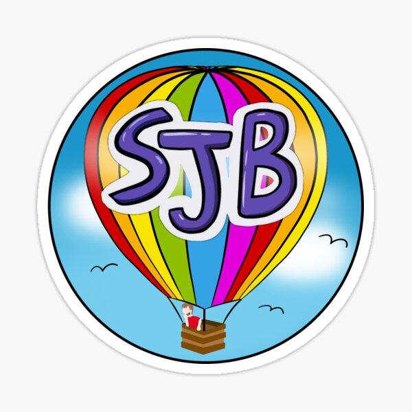 Design Competition Runner Up - Hot Air Balloon Sticker