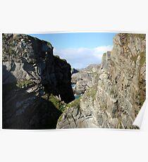 Mizen Head cliffs Poster
