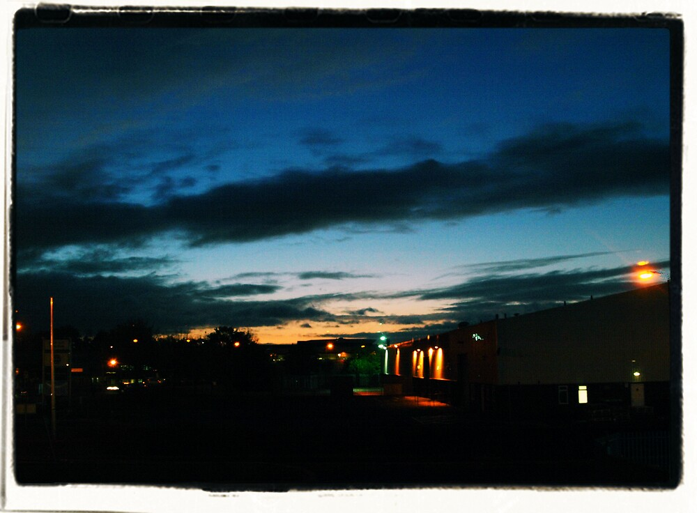 Edinburgh at Night by Alan Findlater