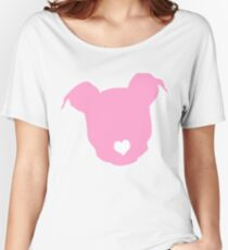 Pink Dog Women's Relaxed Fit T-Shirt