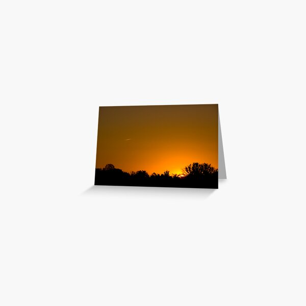 Sunny Skies Airliner Greeting Card