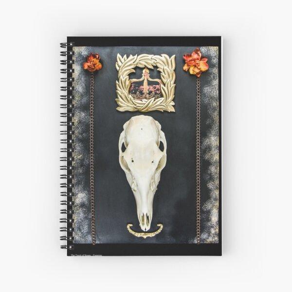 Tarot of Bones - Empress Spiral Notebook